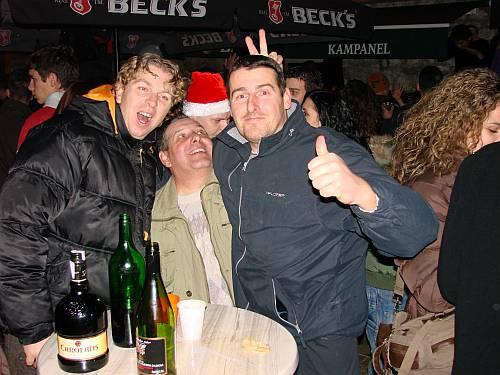 Doček 2008 godine na ulicama i trgovima Omiša